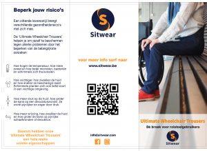 sitwear uwt ultimate wheelchair trousers apparel kledij rolstoelbroek rolstoel rolstoelgebruiker aangepast aangepaste broek rolstoelbroek tertrapleeg handfunctie beperkt beperkte handicap gehandicapt beperking